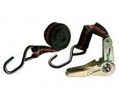 Ремень багажный с крюками 5м храповой механизм