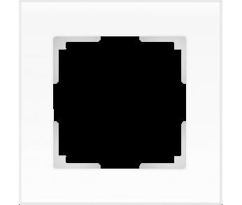 Werkel Рамка на 1 пост белый матовый Favorit
