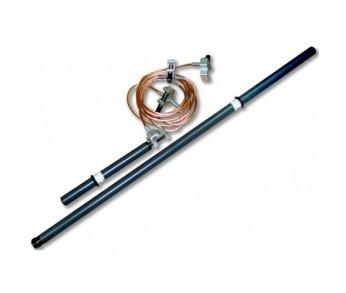 Заземление для РУ до 15кВ ЗПП-15 5м 25мм2 1 штанга (Энергозащита)