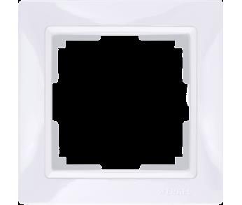 Werkel Рамка на 1 пост белый Snabb Basic