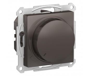 ATLASDESIGN Светорегулятор (диммер) 315Вт поворотно-нажимной мокко (8шт/упак)