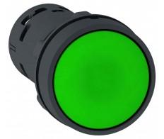 Кнопка зеленая без фиксации 22мм 1НО Schneider Electric