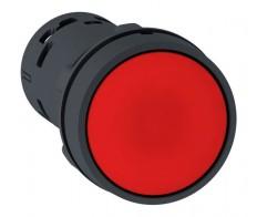 Кнопка красная возвратная (без фикс.) 22мм нз Schneider Electric