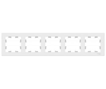 ATLASDESIGN Рамка 5-ая универсальная белый (упак. 5шт.)