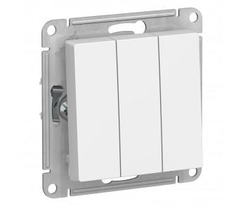 ATLASDESIGN Выключатель 3кл. (сх.3) белый (10шт/упак)