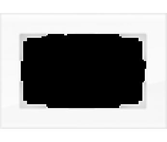 Werkel Рамка для двойной розетки белый Favorit