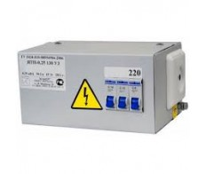 Ящик с понижающим трансформатором ЯТП-0,25 220/24В IP31 250Вт ЭЛТИ