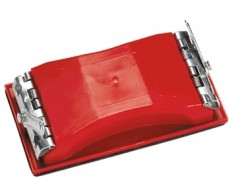 Брусок для шлифования 210х105мм пластиковый с зажимами MATRIX