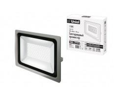 Прожектор светодиодный 100W ULF-F16-100W/NW 4000K серебристый (IP65) Uniel