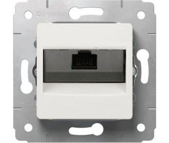 Cariva Розетка комп. 1*RJ45 к6 бел.