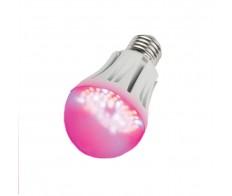 Лампа светодиодная 9Вт Е27 для растений LED-A60-9W/SP/E27/CL ALM01WH Uniel