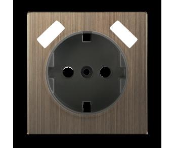 Werkel Накладка для USB розетки Бронза