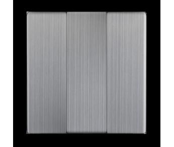 Werkel Набор клавиш для выключателя трехклавишного Глянцевый никель