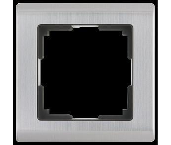 Werkel Рамка на 1 пост глянцевый никель Metallic