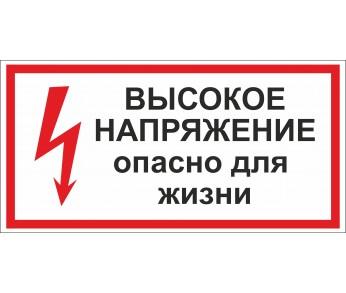 Знак плакат ТБ