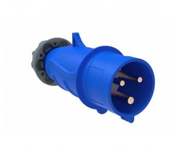 Вилка кабельная 013 16А 2Р+РЕ IP44 220V переносная IEK (MAGNUM))