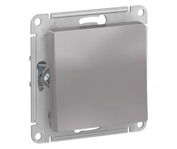 ATLASDESIGN Выключатель 1кл. (сх.1) алюминий (10шт/упак)