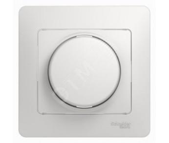 GLOSSA Термостат электронный с датчиком в сборе 10A бел.поворотный (упак. 2шт.)