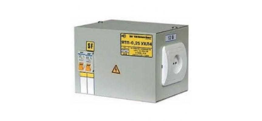 Ящик с понижающим трансформатором ЯТП-0,25 220/36-2 36 УХЛ4 IP30 ИЭК