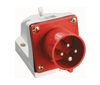 Вилка кабельная 514 16А 3Р+РЕ IP44 380В стац. IEK (10шт)
