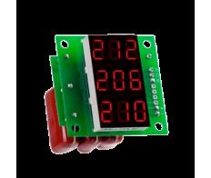 Вольтметр переменного тока Вм-14 3x220v DigiTOP