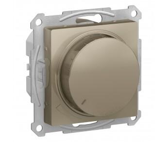 ATLASDESIGN Светорегулятор (диммер) 315Вт поворотно-нажимной шампань (10шт/упак)