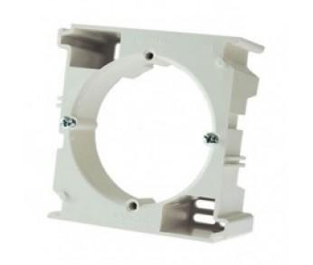 GLOSSA Коробка для наружного монтажа бел. (упак. 16шт.)