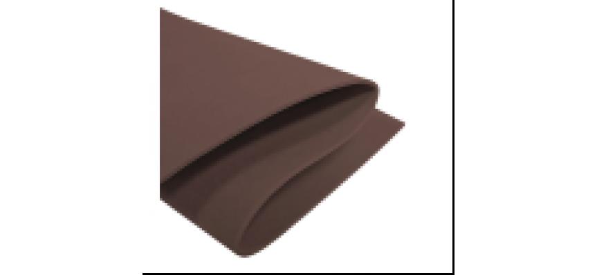 Фоамиран  толщ. 2мм, 60x70см Шоколадный Cioccolato ( 10л./уп.)Volpe Rosa