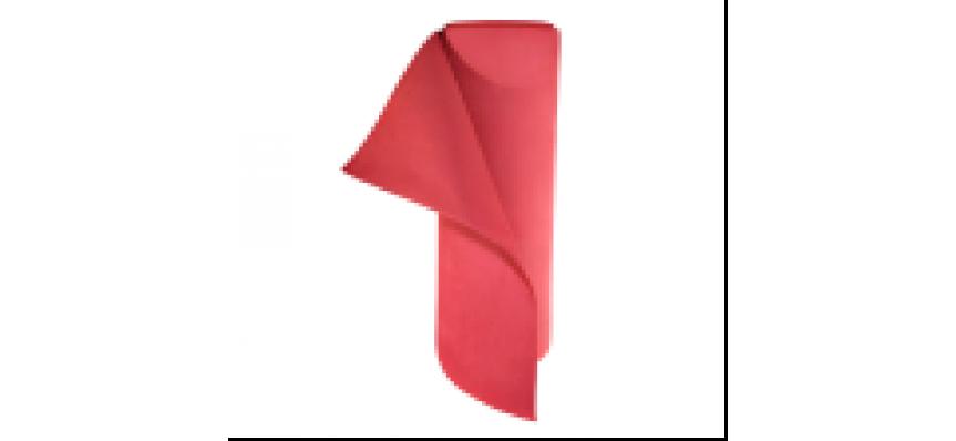 Фоамиран  толщ. 2мм, ширина 100см,Карминно-розовый  Rosa Carminio (50м./рул.)Volpe Rosa