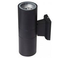 Светильник светодиодный фасадный ДБУ-2x9Вт 6500К 800Лм черный JazzWay