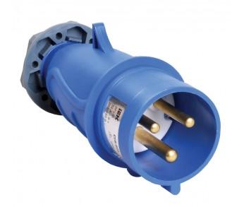 Вилка кабельная 023 32А 2Р+РЕ IP44 220V переносная MAGNUM IEK (10шт)