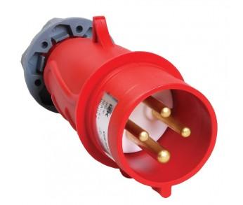 Вилка кабельная 024 32А 3Р+РЕ IP44 380V переносная MAGNUM IEK (10шт)