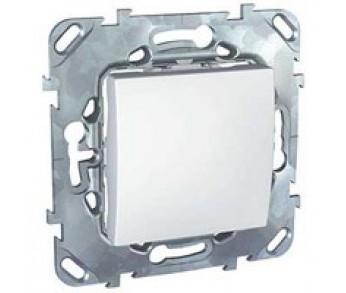 UNICA Выключатель 1-кл. бел.