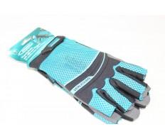 Перчатки комбинир. облегченные, открытые пальцы GROSS