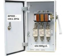 Рубильник ЯРП 100А-1М У3 IP54