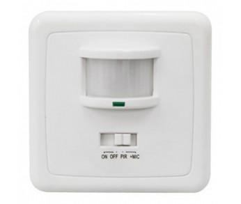 Датчик движения ИК встр. 500w 140 гр. 12м IP20 белый (SEN1A/LX2000) Feron