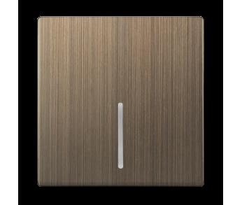 Werkel Клавиша для выключателя c подсветкой Бронза