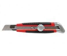 Нож 18мм выдвижное лезвие металлическая направляющая MATRIX