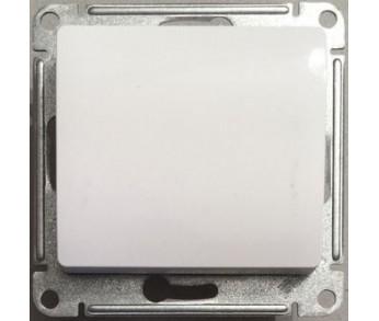 GLOSSA Переключатель 1кл. сх.6 бел. (упак. 20шт)