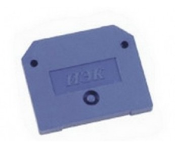 Заглушка для ЗНИ 4-6мм2 синий IEK