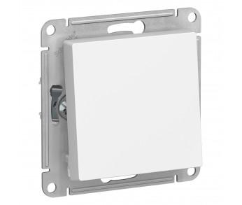 ATLASDESIGN Выключатель кнопочный 1кл. с самовозвратом (сх.1) 10AX белый (5шт/упак)
