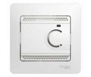 GLOSSA Термостат электронный с датчиком в сборе 10A бел. (упак. 2шт.)