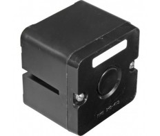 Кнопка ПКЕ 222/1 черная (в/з)