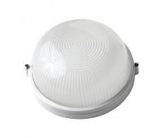 Светильник 1301 белый малый круг. 1*60Вт. Е-27 IP54