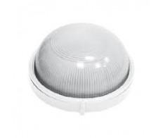 Светильник 1101 белый круг 1*100Вт. Е-27 IP54