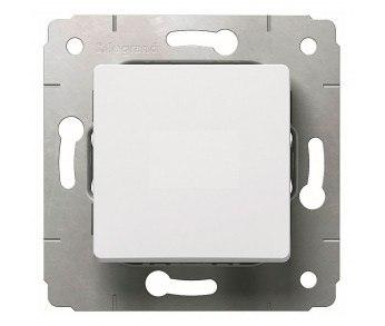 Cariva Выключатель 1кл бел.
