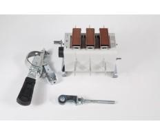 Рубильник ВР 32-37-А70240-400А-УХЛ3 передняя смещенная рукоятка КЭАЗ