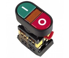 Кнопка Пуск-Стоп APBB-22N с подсветкой неон 1з+1р 240В IEK