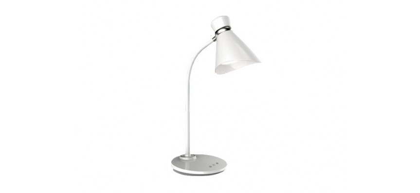 Светильник настольный 6W сенсор. выкл. 3300-6000К Белый Uniel