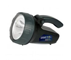 Фонарь светодиодный Стандарт Пласт. корп. 1W LED + 15 LED Uniel